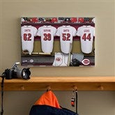 Cincinnati Reds MLB Personalized Locker Room Canvas- 12x18 - 11706-S
