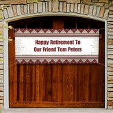 Happy Retirement© Personalized Non-Photo Banner - 11714-B