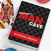 Man Cave Create Your Own Playing Cards - 11726