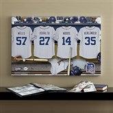 Detroit Tigers MLB Personalized Locker Room Canvas- 16x24 - 11738-M