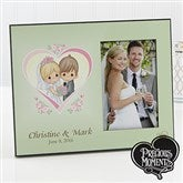 Precious Moments® Personalized Heart Wedding Photo Frame - 11740