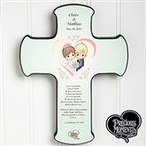Precious Moments® Personalized Heart Wedding Cross - 11745