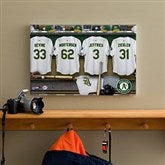 Oakland A's MLB Personalized Locker Room Canvas- 12x18 - 11752-S