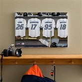 Toronto Blue Jays MLB Personalized Locker Room Canvas- 12x18 - 11753-S