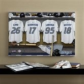 Toronto Blue Jays MLB Personalized Locker Room Canvas- 16x24 - 11753-M