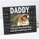 Repeating Name For Him Personalized Photo Frame - 11759