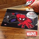 Ultimate Spider-Man® Personalized Recycled Rubber Back Doormat - 11766