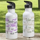 Signature Style Personalized Water Bottle - 11776