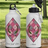 Golf Pro© Personalized Ladies Water Bottle - 11781