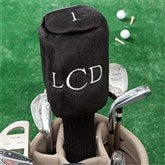 Embroidered Golf Club Cover For Her- Raised Monogram - 11784-M