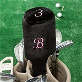Embroidered Golf Club Cover For Her- Initial - 11784-I