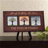 The Seasons Personalized Canvas Art - 11789