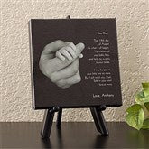Hand In Hand Personalized Canvas Art - 11793
