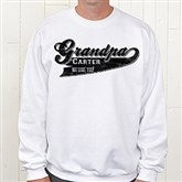 Grandpa Since Personalized Sweatshirt - 11796-SS