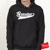 Grandpa Since Personalized Hooded Sweatshirt - 11796-BHS