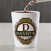 Classic Tavern Personalized Shot Glass - 11809
