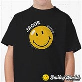 SmileyWorld® Personalized Youth T-Shirt - 11814-YBT