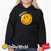 SmileyWorld® Personalized Youth Black Sweatshirt - 11814-YBS