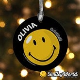 SmileyWorld® Personalized Ornament - 11817