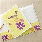 Flower Power Personalized Folders-Set of 2 - 11834