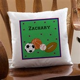 You Choose Personalized Decorative Pillow For Boys - 11847