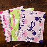 That's My Name Personalized Large Notebooks For Girls-Set of 2 - 11849
