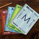 That's My Name Personalized Large Notebooks For Boys-Set of 2 - 11850