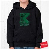 Go Team Personalized Sweatshirt- Black Youth - 11898-BY