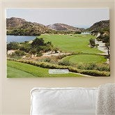 Perfect Day Personalized Photo Golf Canvas - 24