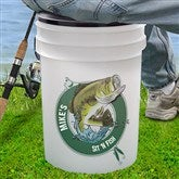 Sit 'N Fish Personalized Bucket Cooler - 11919