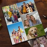 Photo Collage Personalized Deluxe Photo Album--5 Photos - 11923-B