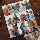 Photo Collage Personalized Deluxe Photo Album--8 Photos - 11923-A