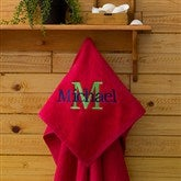 All About Me Beach Towel - Salsa Red - 11931-R