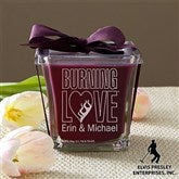 Elvis Burning Love™ Scented Spa Candle- Mulberry - 11943-M