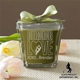 Elvis Burning Love™ Scented Spa Candle- Papaya & Bamboo - 11943-P