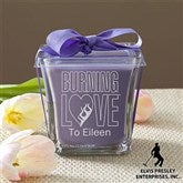 Elvis Burning Love™ Scented Spa Candle- Lavender & Linen - 11943-L
