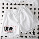 Elvis Love Me Tender™ Personalized Boxer Shorts - 11949