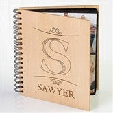 Elegant Monogram Personalized Photo Album - 11955