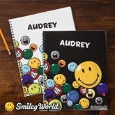 SmileyWorld® Personalized Large Notebooks-Set of 2 - 11959