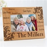 Family Pride Personalized Photo Frame- 4 x 6 - 11961-S