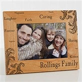 Family Pride Personalized Photo Frame- 5 x 7 - 11961-M