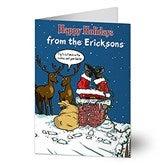 Merry Stressmas Personalized Christmas Cards - 11969