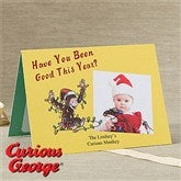 Curious George® Personalized Christmas Cards - 11974