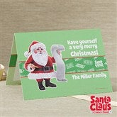 Santa Claus Is Comin' To Town® Personalized Christmas Cards - 11975