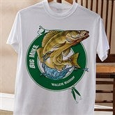Fisherman Personalized Adult T-Shirt - 11989AT