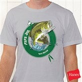 Fisherman Personalized Hanes® Adult T-Shirt - 11989AT