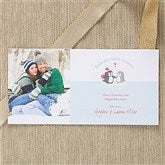 Warm & Cozy Holiday Photo Postcards & Envelopes - 11995