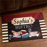 Family Bistro Personalized Kitchen Mat - 12005-S