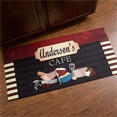 Family Bistro Personalized Oversized Kitchen Mat - 12005-O
