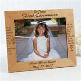 Remember This Day Personalized Frame- 8 x 10 - 1202-L
